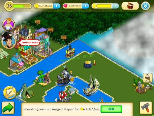 Tap Paradise Cove Hack Rubies Add Unlimited Timber