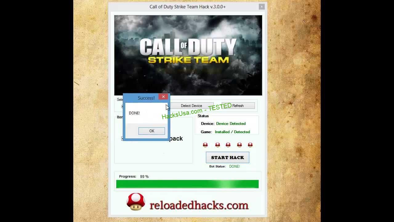 Call Of Duty Strike Team Hack Tokens Add Unlimited Ammo