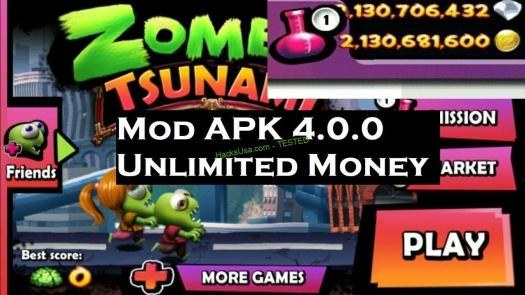 Zombie Tsunami 4.0.0 MOD APK Unlimited Money - hacked android ...