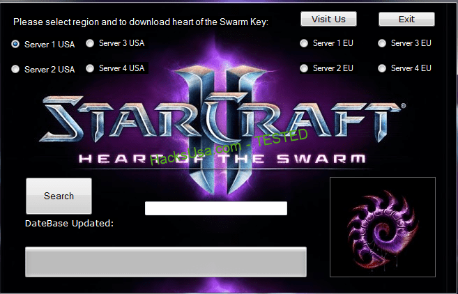 Starcraft II: Heart Of The Swarm Key Generator