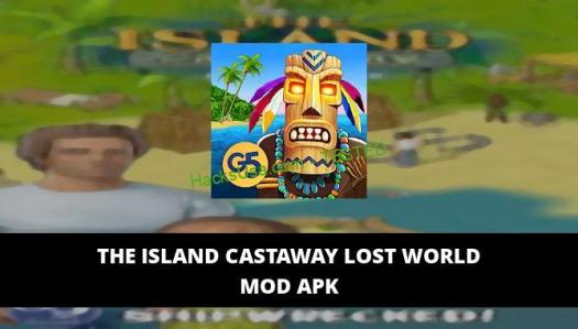 The Island Castaway Lost World Featured Cover