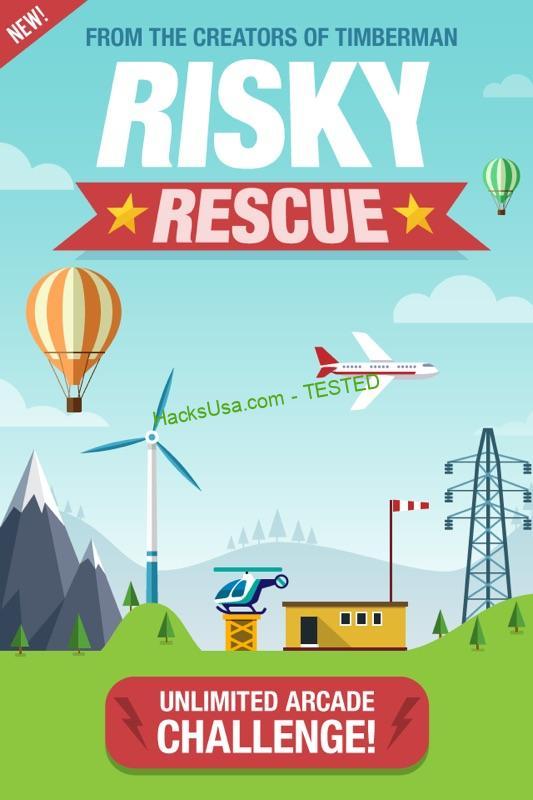Risky Rescue Hack Add Unlimited Cash