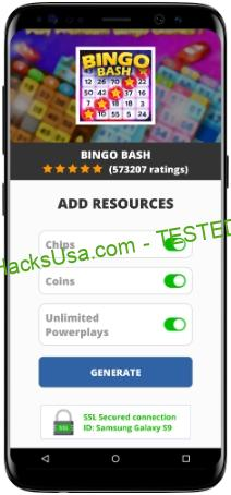 Bingo Bash MOD APK Unlimited Chips Coins Powerplays