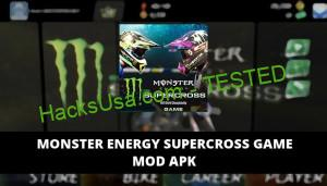 Monster Energy Supercross Game Featured Cover