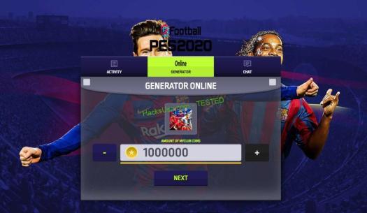 eFootball PES 2020 Hack APK Mod For myClub Coins
