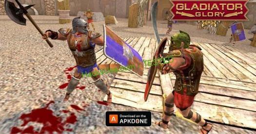 Gladiator Glory MOD APK Free Shopping