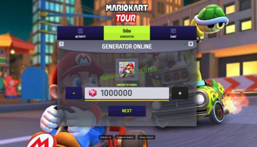 Mario Kart Tour Hack Mod For Coins and Rubies