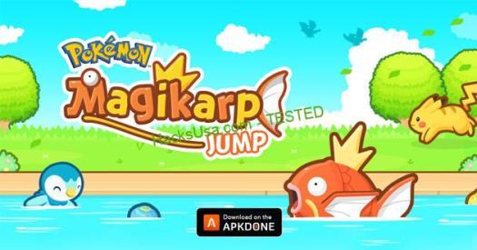 Pokémon Magikarp Jump MOD Unlimited Money
