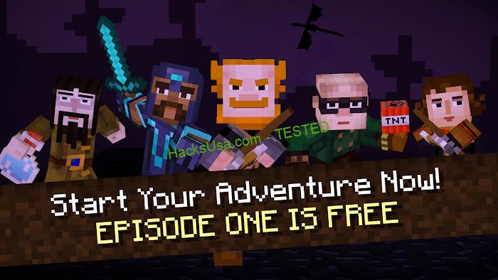 Minecraft: Story Mode (MOD, Unlocked All)