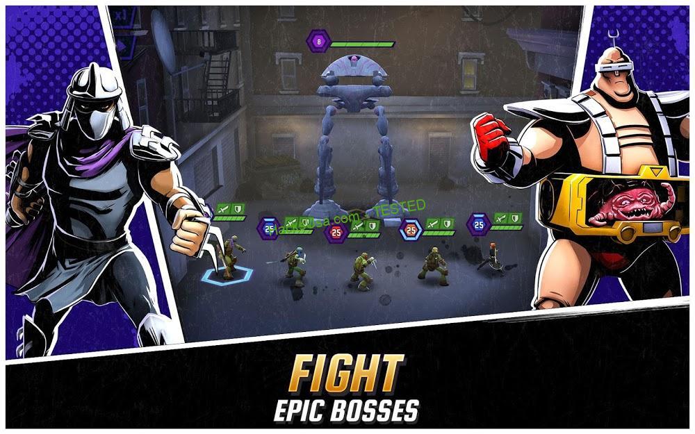 Ninja Turtles: Legends (MOD, Money/Bucks/Pizzas) 2