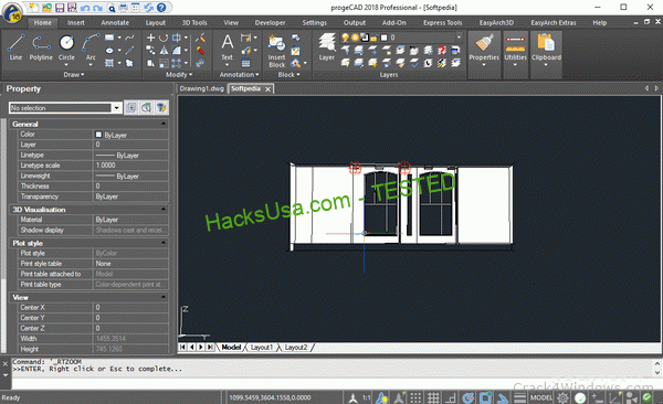 progeCAD Professional 2020 (20.0.8.3) Crack + Serial Number