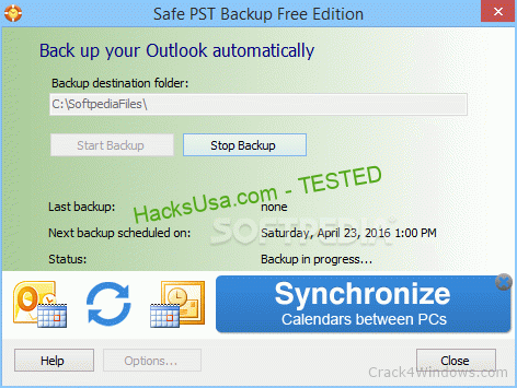 Safe PST Backup 2.85 Crack + Activator