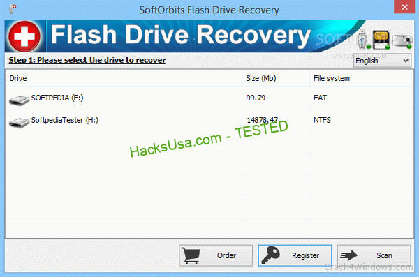 SoftOrbits Flash Drive Recovery 3.2 Crack + Activation Code