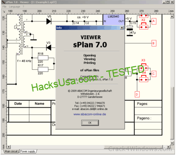 sPlan 7.0 Viewer Crack With License Key Latest