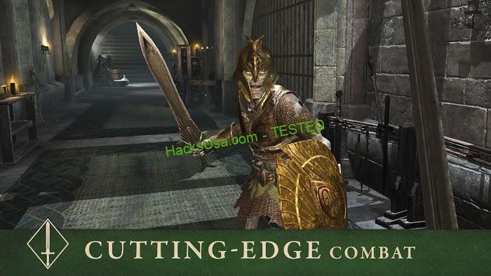 The Elder Scrolls: Blades (MOD, God Mode/Dumb Enemy)