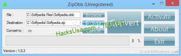 ZipObb 1.0.3 Crack & Keygen
