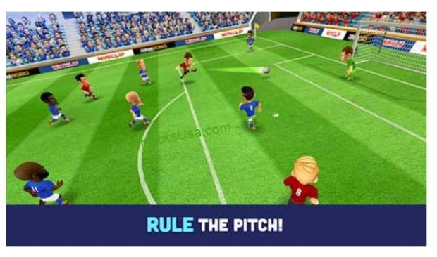 Mini Football – Mobile Soccer 1.2.0 Apk + Mod (Speed) Android
