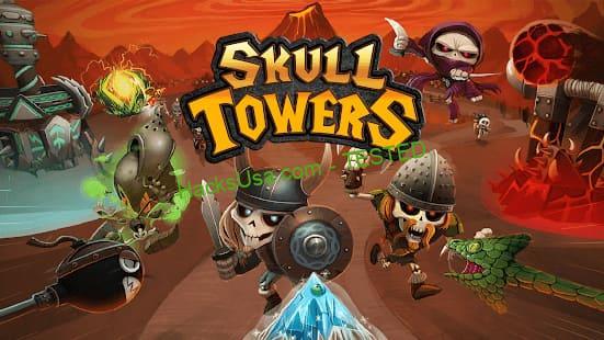Skull Tower Defense Mod Apk