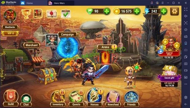 Hero Wars Mod (skills/mana) APK