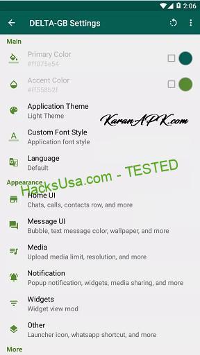 Delta GB WhatsApp APK Download
