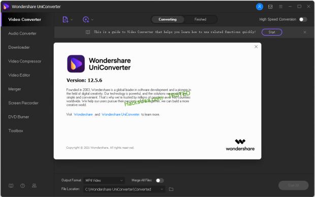 Wondershare UniConverter v12 5 6 12 (x64) Multilingual Portable