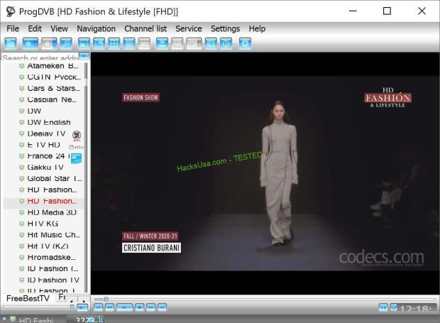 ProgDVB 7.40.1 screenshot