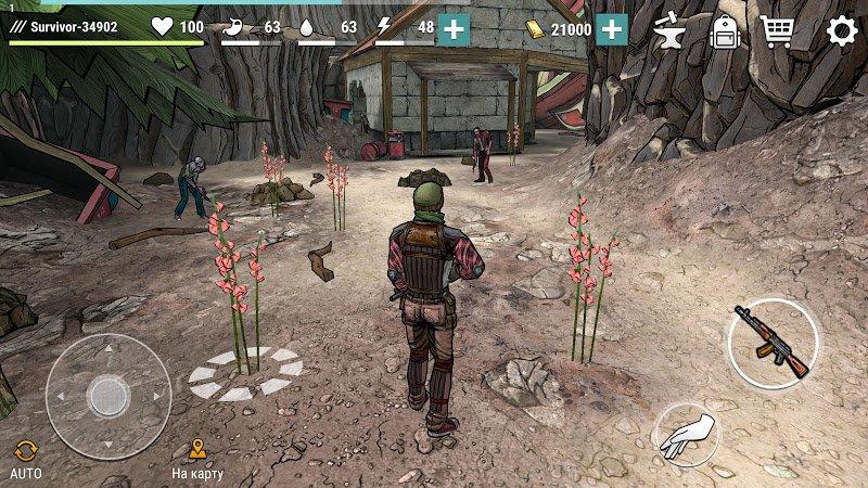 Dark Days: Zombie Survival (MOD, Unlimited Gold)