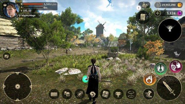 Evil Lands: Online Action RPG (MOD, Dumb Enemy)
