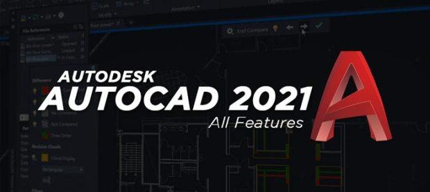 Autodesk AutoCAD 2021 Full Features 64 Bit