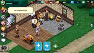 Shop Heroes - Android / iOS Gameplay Review : Play as an RPG Shopkeeper - YouTube