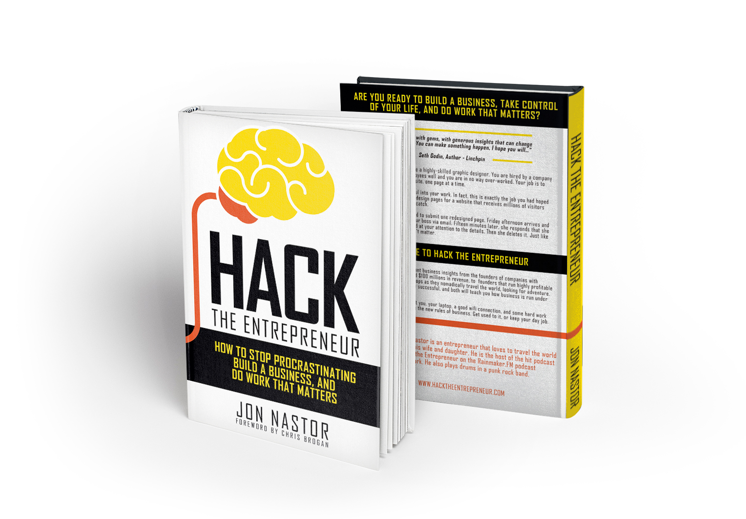 Hack the Entrepreneur: The Book