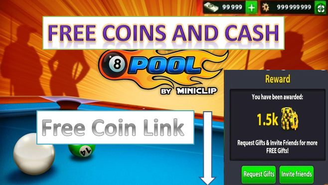 How to get free coins and cash in 8 ball pool