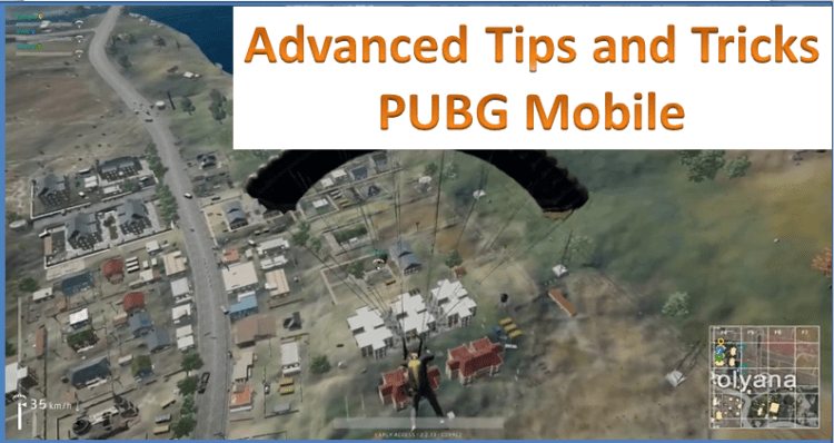 pubg mobile advanced tips