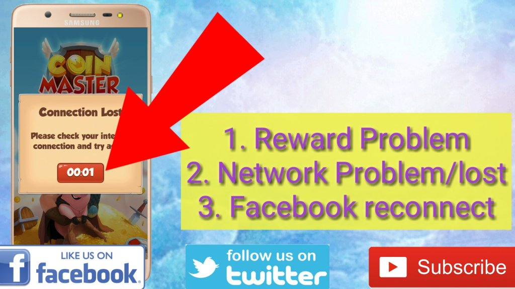 coin master network problem ,coin master glitch, coin master reward problem
