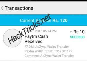 adzync payment proof