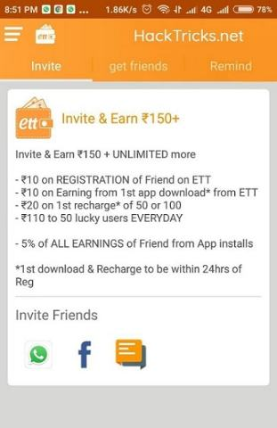 Earn Talktime Hack Apk for Unlimited Recharge