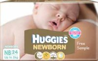 Huggies Newborn Diapers Free Samples