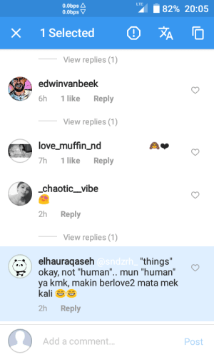 copy comments on gbinstagram