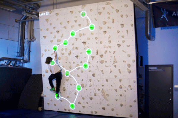 Augmented Climbing Wallプレイイメージ