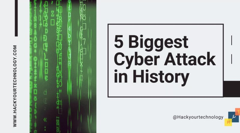 Biggest cyber attack in history