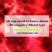 Things to know about Rh negative Blood type