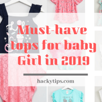 Must-Have Tops For Baby Girl In 2019
