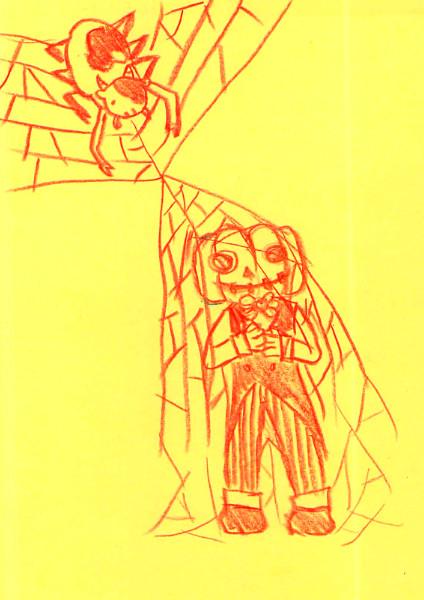 Halloweenと土蜘蛛