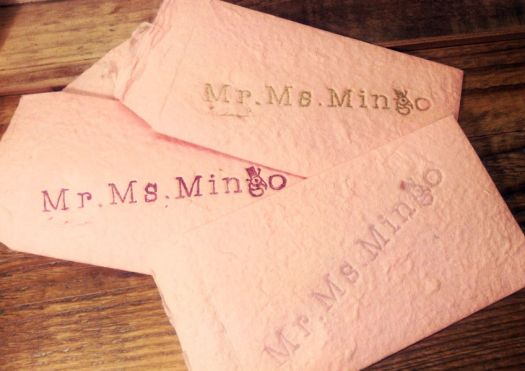 Mr.Ms.Mingo 特別封筒