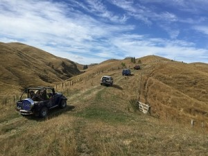4WD ride charity