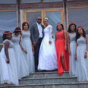 Bridesmaid Dresses In Nigeria