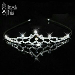 Rhinestone Little Bride's Tiara Crown