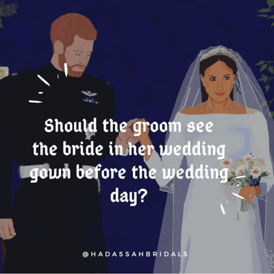 The Groom, the Bride, Her Wedding Dress & The Wedding Day