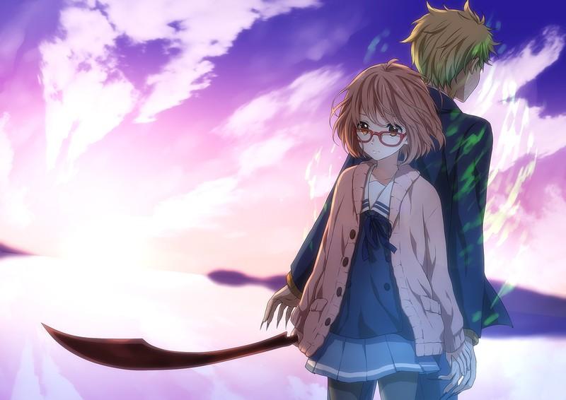 مراجعة – Kyoukai no Kanata – لم أكن أتوقع هذا القدر من الرومنسية والدراما في أنمي واحد