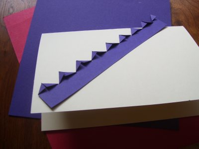 fold paper points